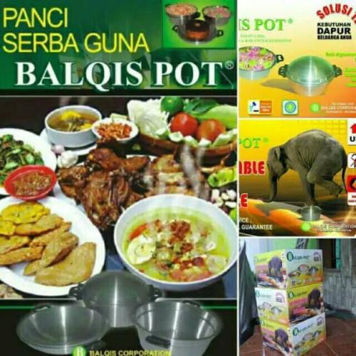 Foto Produk Panci balqis pot,panci ajaib/panci serbaguna dari ginan jaya