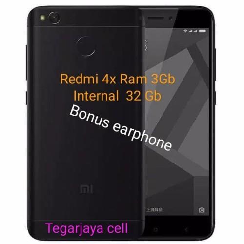 Foto Produk Hp xiomi radmi 4x prime Ram 3/32,layar 5inch - Hitam dari tegar jaya cell