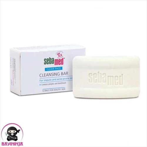 Foto Produk SEBAMED Clear Face Cleansing Bar untuk Jerawat & Komedo 100 g dari BAYININJA