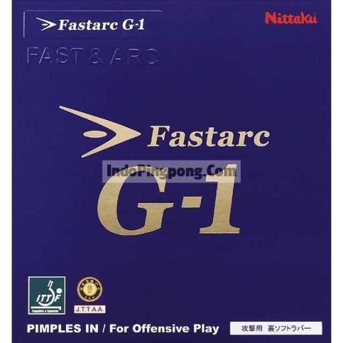 Foto Produk Nittaku FastArc G-1 ~ Rubber Karet Fast Arc G1 - Hitam dari IndoPingpong