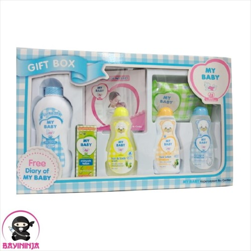 Foto Produk MY BABY Gift Box Paket Kelahiran Blue dari BAYININJA