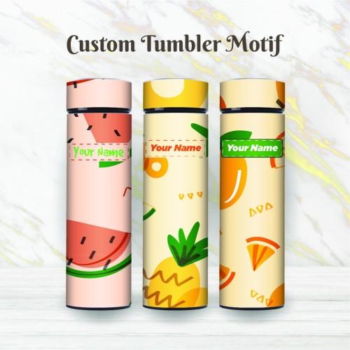 Foto Produk Tumbler Custom Termos Life Free Design Motif - SAKURA TAMPLATE C - C-06 dari TWIN DIGITAL