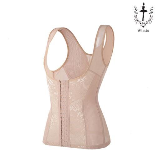 Foto Produk WIMIU Korset Wanita Pakaian Dalam Wanita Agafia 58028 Long Bra - Brown, L dari Wimiu Official Store