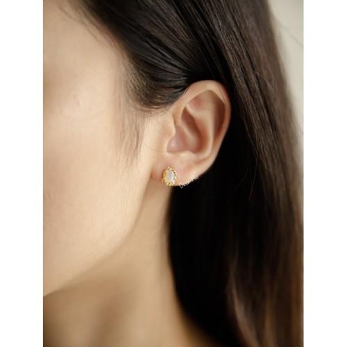 Foto Produk Dear Me - Merlin Earring (925 Sterling Silver with 18K Gold Plating) dari Dear Me Jewelry