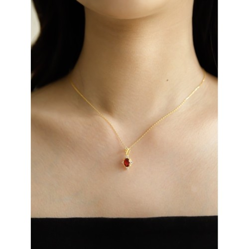 Foto Produk Dear Me - Saville Necklace (925 Sterling Silver with 14K Gold Plating) dari Dear Me Jewelry