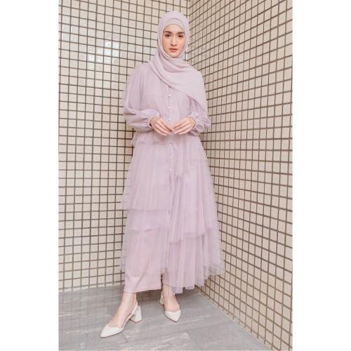 Foto Produk HijabChic Hawa Lavender Tulle - XL dari HijabChic Official