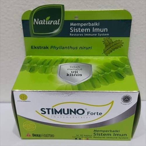 Foto Produk Stimuno Forte - Kapsul Daya Tahan Tubuh - 30 Kapsul dari Toko-BotaxXx