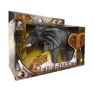 Foto Produk Mainan Anak - Robot Elephant Gajah Afrika Jalan Light Sound dari Toko DnD