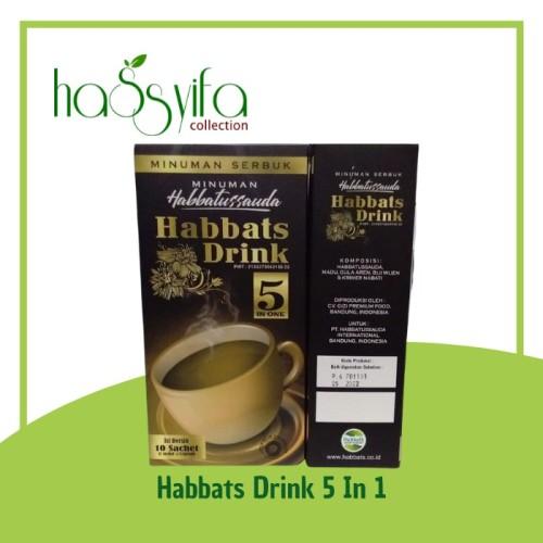 Foto Produk Habbats Drink 5 in 1 Minuman Serbuk Habbatussauda isi 10 sachet dari Hassyifa collection
