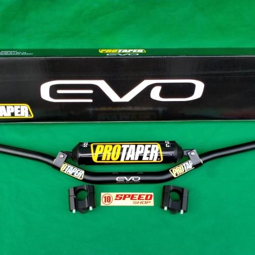 Foto Produk Stang Fatbar Protaper Evo Type Low Plus Barpad Fuzion Set Stabilizer - Hitam dari 10speedshop