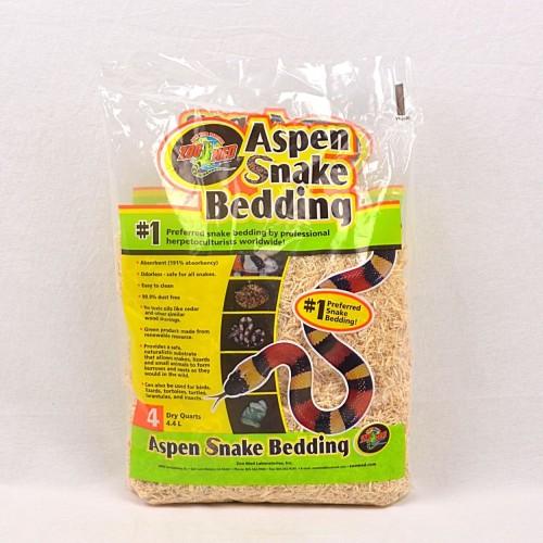 Foto Produk ZOOMED Bedding Reptil Aspen Snake Bedding 4,4L dari Pet Republic