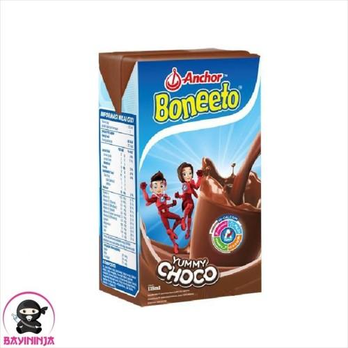 Foto Produk BONEETO UHT Yummy Choco Cokelat 115 ml dari BAYININJA