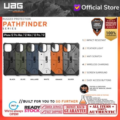 Foto Produk Case iPhone 12 Pro Max / Pro / 12 Mini Urban Armor Gear UAG PATHFINDER - iPhone 12Pro/12, 0range dari UAG OFFICIAL INDONESIA