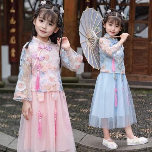 Foto Produk Jual Pakaian Kimono Imlek Anak Perempuan / Baju Cheongsam Xipao Kimono dari JESSICA & mee