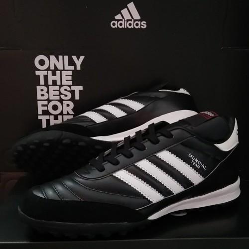 Foto Produk sepatu futsal Adidas Copa mundial team astro black white turf dari dadunt one sport