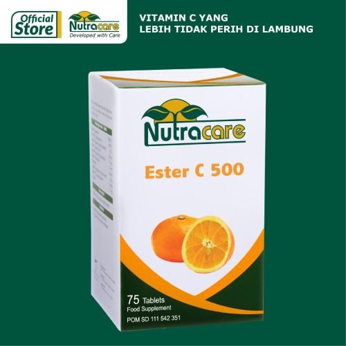 Foto Produk Nutracare Ester C 500 75 tablet dari Konimex Store