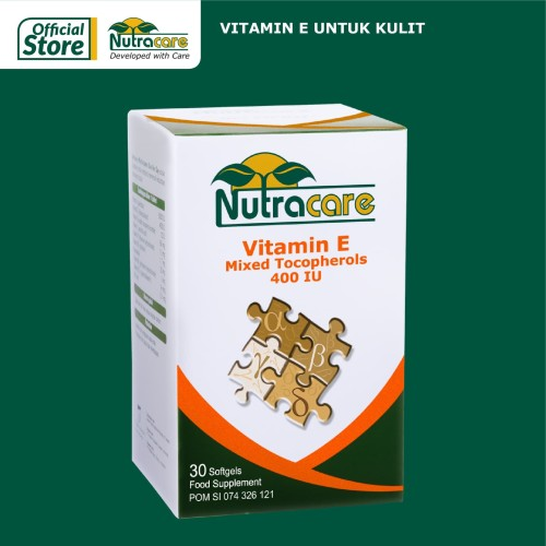 Foto Produk Nutracare Vit E Mixed Tocopherols 400 IU 30 softgel dari Konimex Store