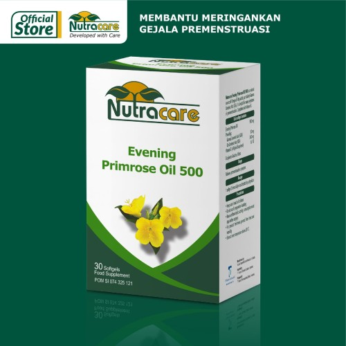Foto Produk Nutracare Evening Primrose Oil 500 30 softgel dari Konimex Store