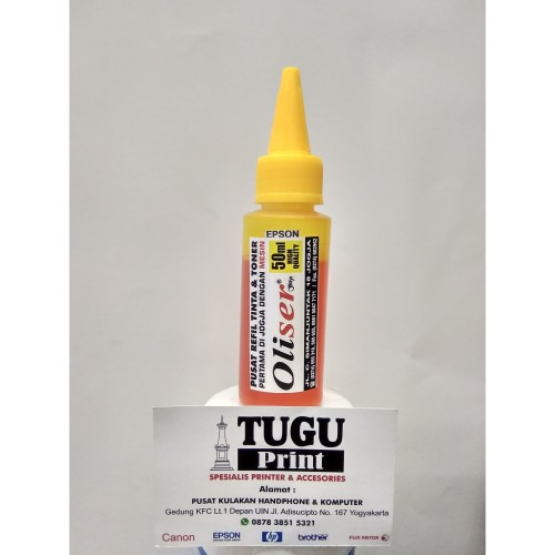 Foto Produk Tinta Oliser Epson Yellow 50ml dari TuguPrint