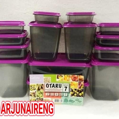 Foto Produk CALISTA OTARU SMOKE PREMIUM/TOPLES TEMPAT MAKAN MULTI FUNGSI dari arjunaireng