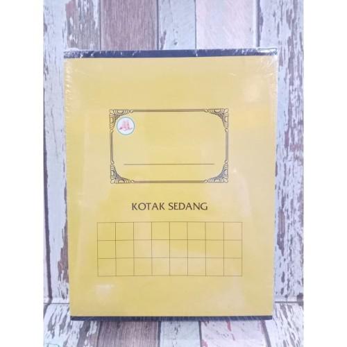 Foto Produk Buku Kotak Sedang Untuk Belajar Menulis Huruf Angka dari Wendo Books