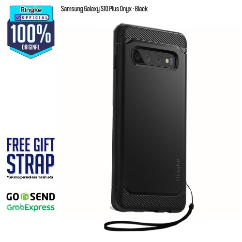 Foto Produk Case Samsung Galaxy S10+ S10 Plus ONYX Original RINGKE - Black dari Official Ringke Partner