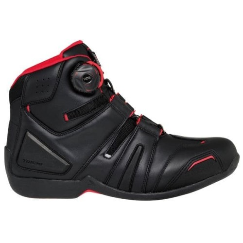 Foto Produk RS TAICHI RSS006 DRYMASTER Original Sepatu Touring Motor- Black Red - 41 dari Helm Cargloss