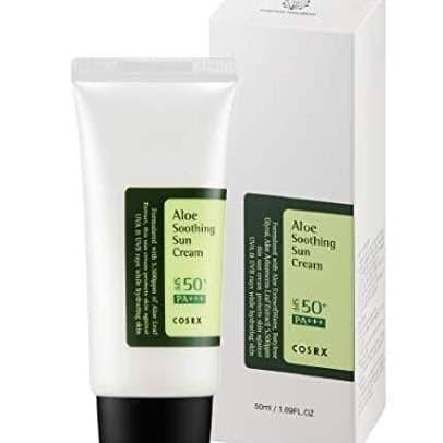 Foto Produk COSRX Aloe Soothing Sun Cream SPF50+ PA+++ 50ml sunblok dari Saranghae House