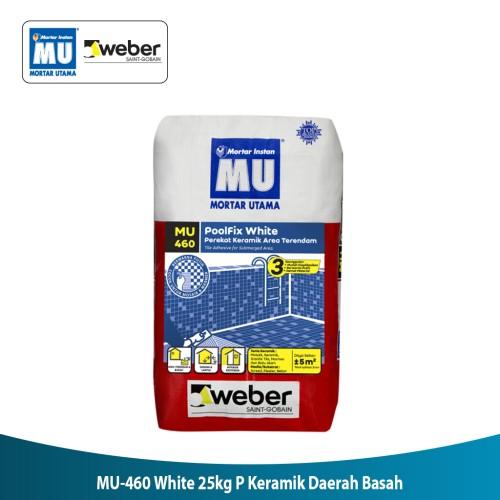 Foto Produk Mortar MU 460 White 25 KG Perekat Keramik Daerah Basah dari Mitra10 Official