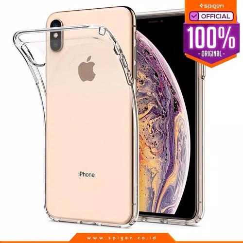 Foto Produk iPhone XS Max / XS / X / XR Case Spigen Clear Softcase Liquid Crystal - XS Max Clear dari Spigen Official