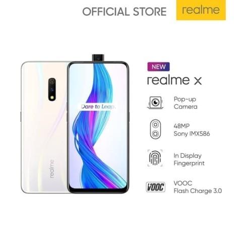 Foto Produk Handphone REALME X 4GB RAM 128GB Internal Memory dari Bentolo
