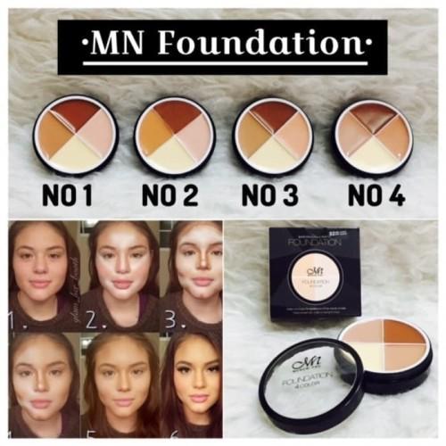 Foto Produk SHADING MN MENOW FOUNDATION CONCEALER CONTOURING ME NOW M.N 4 IN 1 COR dari Bursa Cosmetik Murah