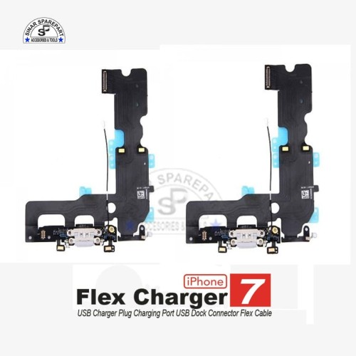 Foto Produk IPHONE 7 FLEXIBLE CAS PCB CONEKTOR Charger KONEKTOR CAS dari SinarSP