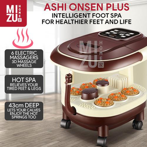 Foto Produk ASHI ONSEN PLUS Mesin Pijat Kaki Foot Spa Electric Massager Infrared dari MIZU HOME