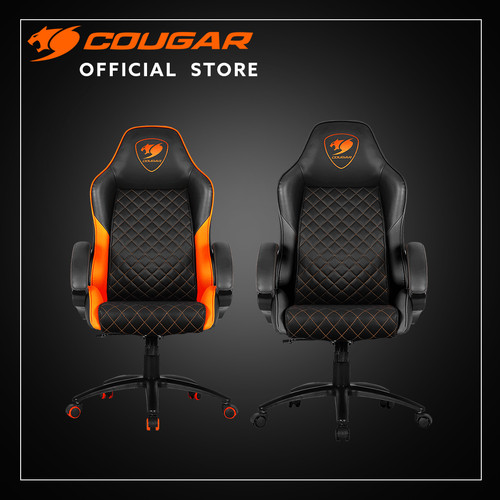 Foto Produk COUGAR GAMING CHAIR FUSION BLACK/ORANGE - Orange dari Cougar Gaming Official