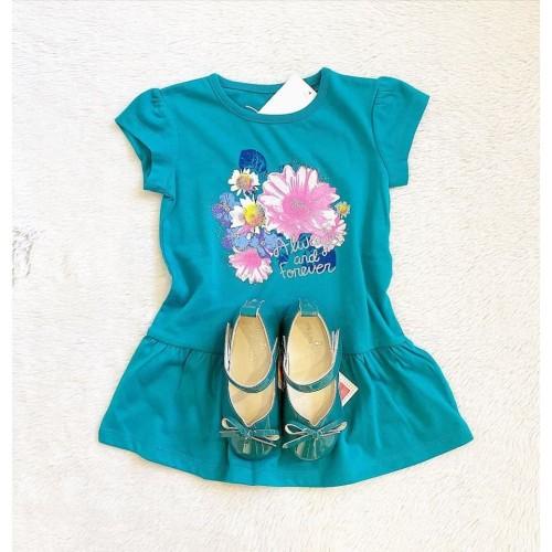 Foto Produk T-Shirt Flower 2 Model - 4720200553 Macadamia Little Glamz dari Macadamia Little Glamz