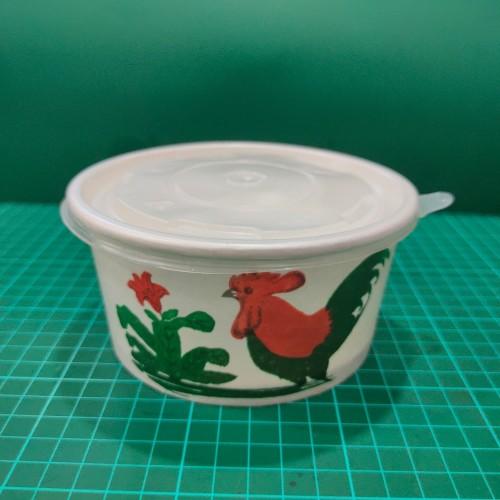 Foto Produk Paper Bowl 650 ML Ayam Jago (Nisuma) Isi 50pcs dari Abun Aneka Plastik