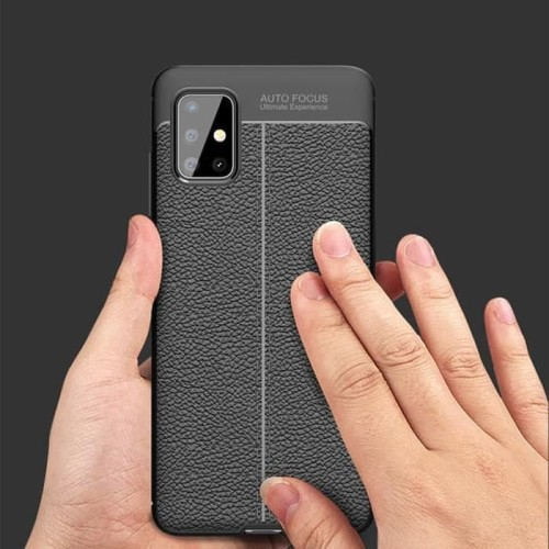 Foto Produk Softcase Autofocus Leather Soft Case Casing Samsung Galaxy A51 A71 dari Hosanagadget