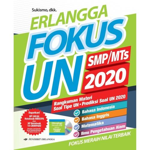 Jual Buku Erlangga Fokus Un 2020 Smp Mts Plus Kunci Jawaban Kota Surabaya Tokobabymurahonline Tokopedia