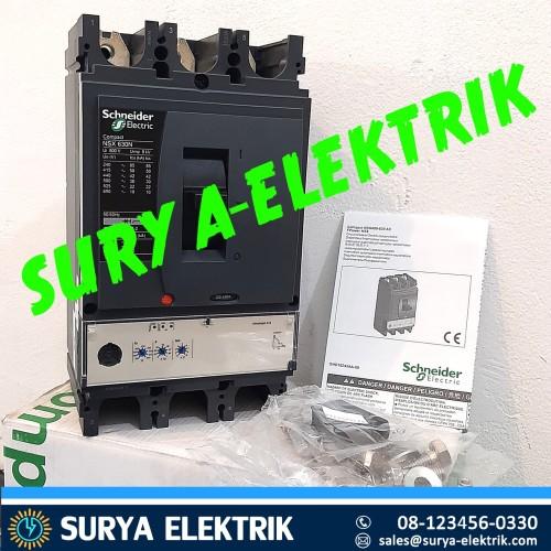 Foto Produk mcb mccb breaker schneider NSX630 nsx630n nsx 630n 630 ampere lv432893 dari SURYA-ELEKTRIK