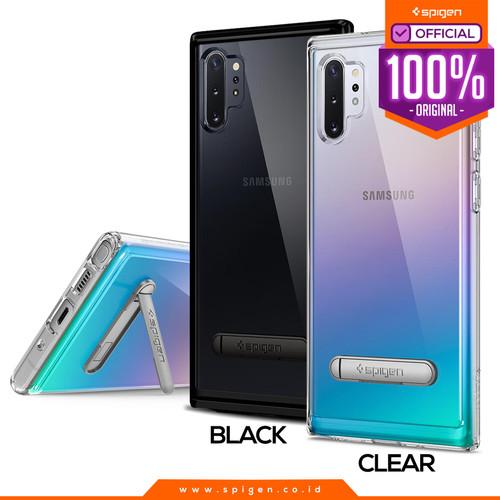 Foto Produk Case Galaxy Note 10 Plus / Note 10 Spigen Ultra Hybrid S Stand Casing - Midnight Black, Note 10 Plus dari Spigen Official