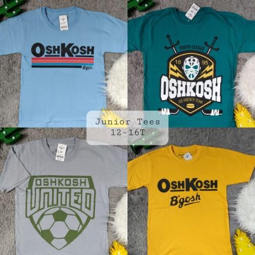 Foto Produk Baju anak laki laki kaos oshkos remaja size 12-16 dari senjakidsfashion