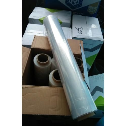 Foto Produk STRETCH FILM 50CM X 300M PUTIH BENING PLASTIK WRAPPING PLASTIC WRAP dari panjisetia
