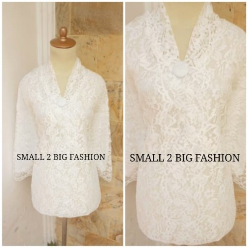 Foto Produk baju kebaya jumbo / atasan kebaya brokat jumbo bigsize / baju besar dari Small 2 Big Fashion