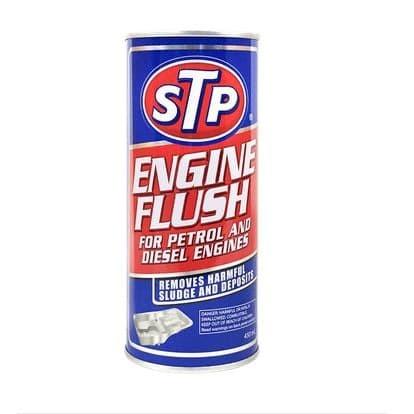 Foto Produk STP ENGINE FLUSH cairan pembersih ruang oli mesin mobil kemasan 450 ml dari Rawawa Djojo Makmur