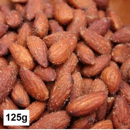 Foto Produk Roasted Almond Lightly Salted/ Kacang Almond Panggang rasa Asin Ringan dari Brania Almond