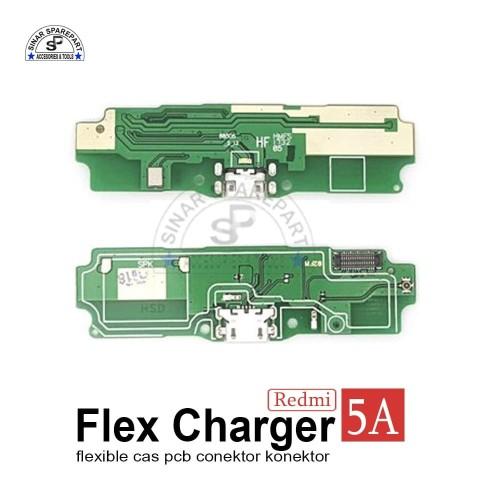 Foto Produk XIAOMI REDMI 5A FLEXIBLE CAS PCB CONEKTOR Charger KONEKTOR CAS dari SinarSP