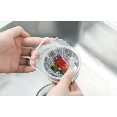 Foto Produk Saringan Lubang Air Kitchen Wastafel Toilet Hair Sink Shower (100 pcs) dari aromakaldi