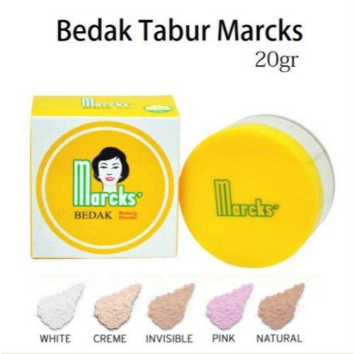 Foto Produk [BPOM] MARCK'S Marcks Active Bedak Tabur Beauty Powder 20g - Natural Beige dari HNCbeauty