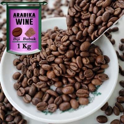 Foto Produk Kopi Arabika Gayo Wine Process 1 Kg - Bubuk Halus, AZA Label dari Azacoffee